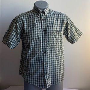 Green Plaid Orvis Shirt
